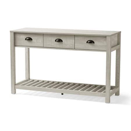 Better Homes & Gardens Kent Console Table with 3 Drawers, European Oak $43.87
