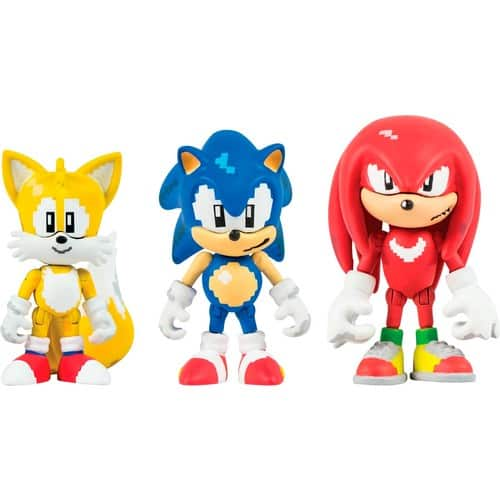 Sonic - Collector Figure Pack 3pk $ 9.99 @Bestbuy $9.99
