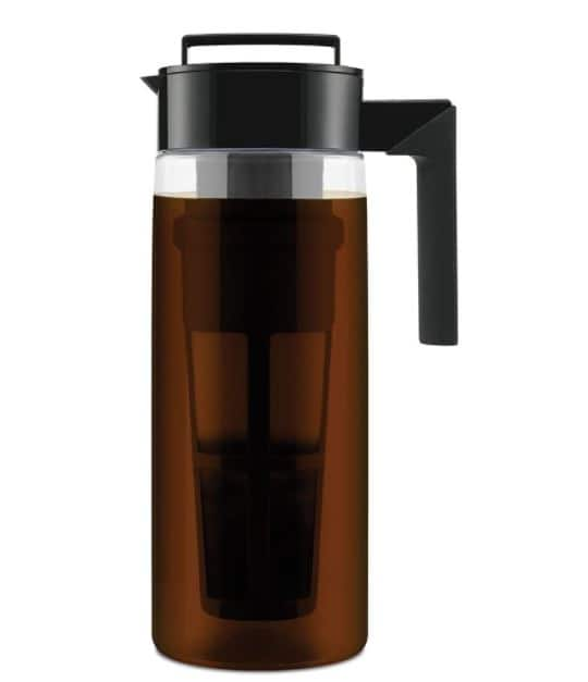 Takeya Cold Brew Coffee Maker 2 Quart Black $16.98 Amazon