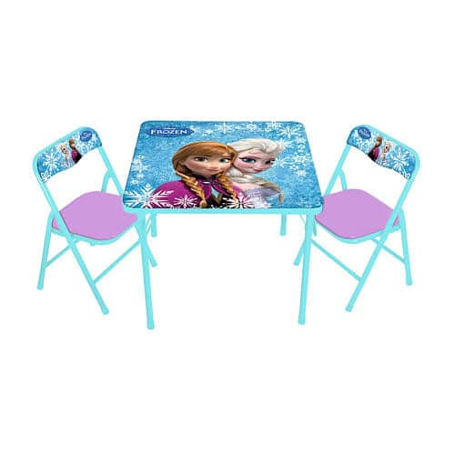Disney Frozen Activity Table And 2 Chair Set 39 98 On