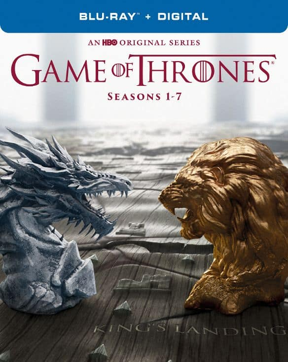 Game of Thrones: The Complete Seasons 1-7 (Blu-ray + Digital) $109.99