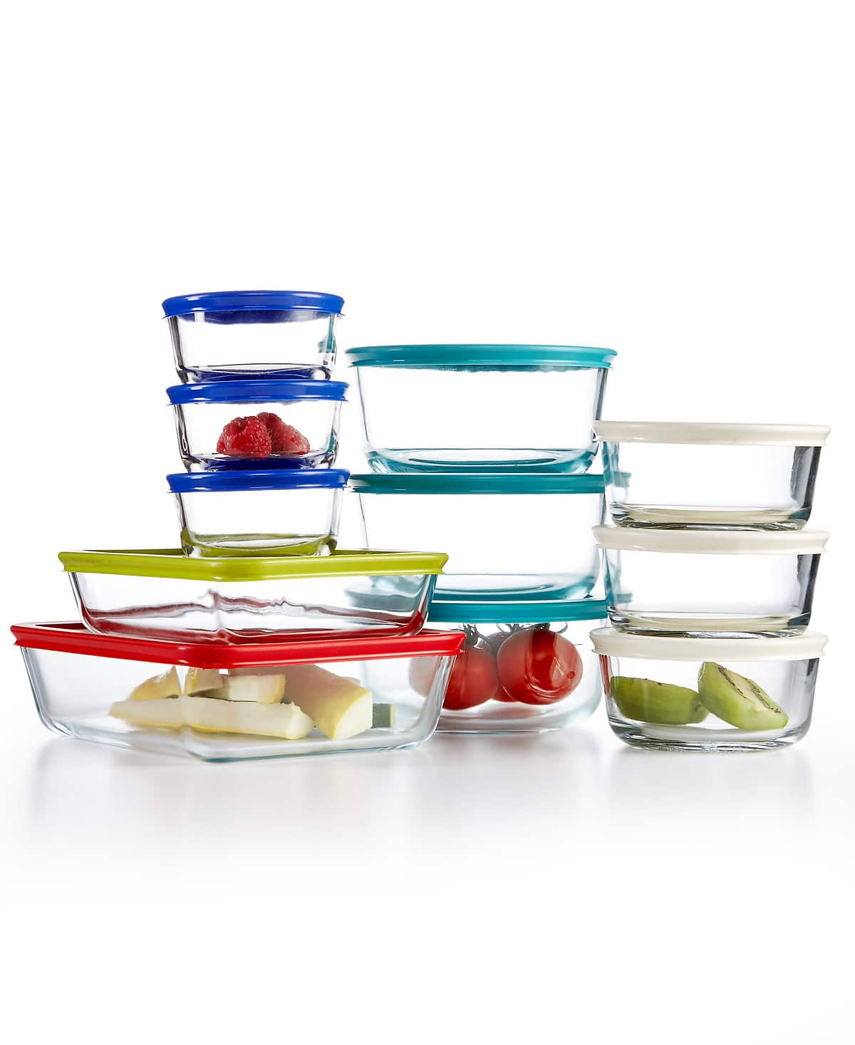 Pyrex 22-Pc. Food Storage Container Set  $24.99 AC at Macy's