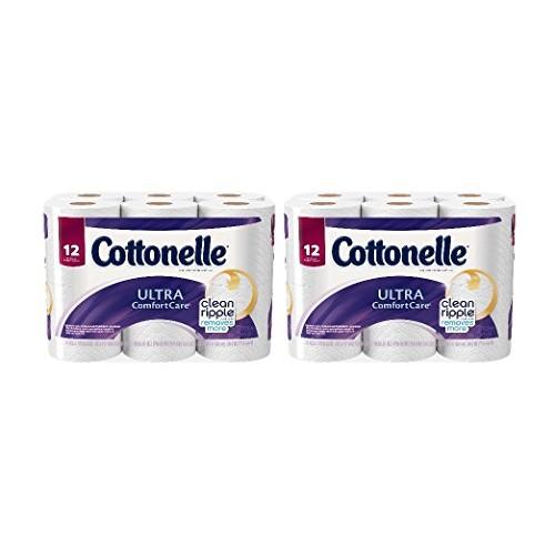 Cottonelle Ultra ComfortCare Big Roll Toilet Paper, Bath Tissue, 12 Toilet Paper Rolls $4.87@amazon