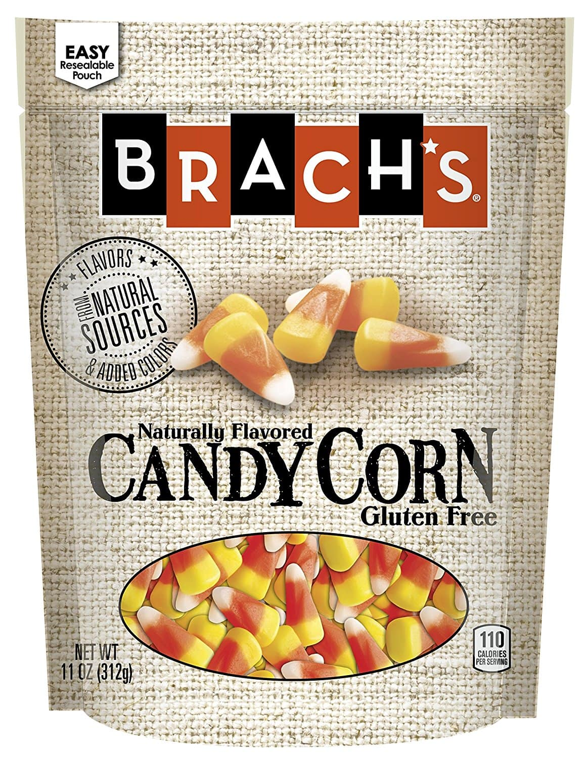 Brach's Natural Sources Candy Corn, 11 Ounce (Pack of 4) $3.57 Add on item@amazon