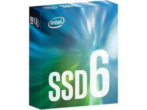 Intel SSD 600p Series (256GB, M.2 2280 80mm NVMe PCIe 3.0 x4, 3D1, TLC) $99