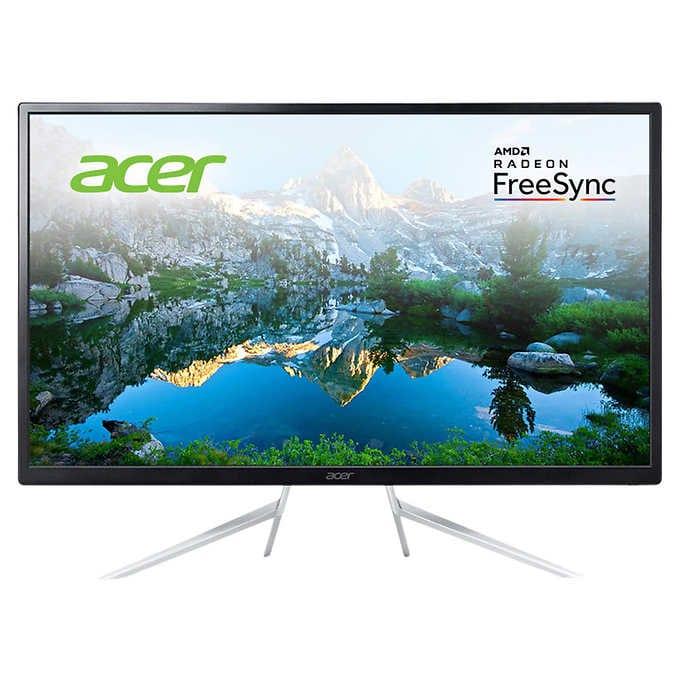 """Acer ET322QU 32"""" Class WQHD IPS FreeSync Monitor @ Costco $189.99"""