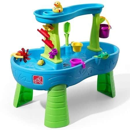 Step2 Rain Showers Splash Pond Water Table $49.98 + Free shipping