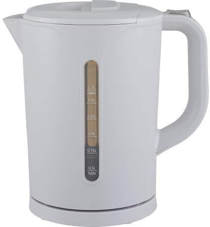 Mainstays 1.7L Plastic Kettle for $5.58
