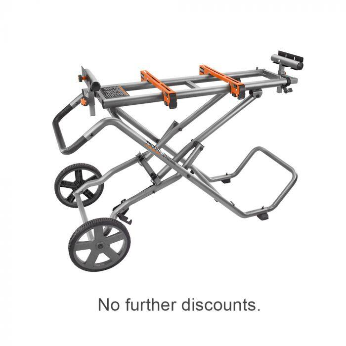 RIDGID AC9946 Miter Saw Stand (FACTORY BLEMISHED) $159.99