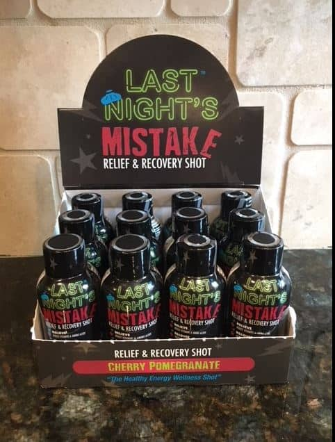 Energy Shot - Last Night's Relief, Recovery and Energy Shot $19.99