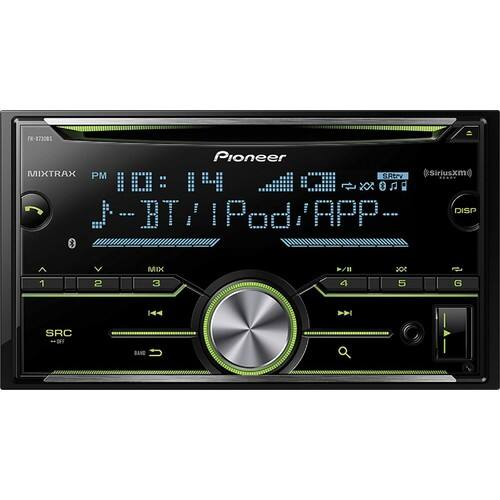 Pioneer - CD - Built-In Bluetooth - Apple® iPod®-Ready - In-Dash Receiver - Black $89.99