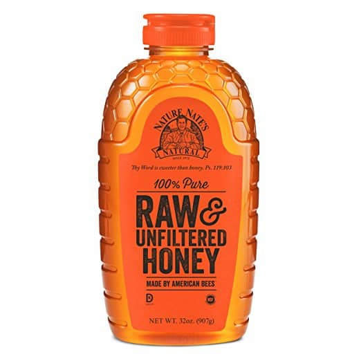 Nature Nate's 100% Pure, Raw and Unfiltered Honey, 32 Ounce $10.62