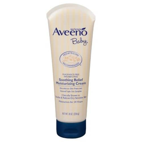 Aveeno Baby Soothing Relief Moisturizing Cream For Dry Sensitive Skin, 8 Oz. $6.64@amazon $6.63