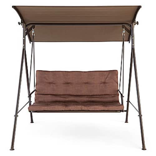 Outdoor Oasis Newberry Two Seat Canopy Swing $95.2@jcpenny