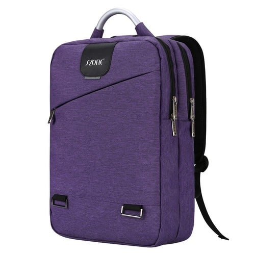 S-ZONE 15.6inch Laptop Backpack College School Backpacks Lightweight Travel Daypack $10.14 $10.04