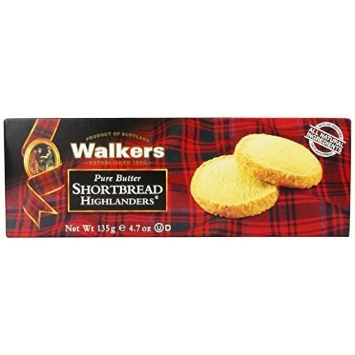 Walkers Shortbread Highlanders, 4.7 oz. Box $2.84 @amazon