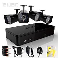 Amazon Deal: Elec® 4CH 960H HDMI Mini CCTV DVR 4 In/Outdoor Surveillance Security Camera System No HDD $89.00+free shipping