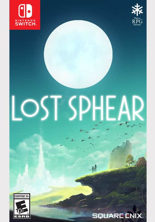 Lost Sphear for Nintendo Switch - Physical Release - back in stock at the Square Enix online store! $49.99