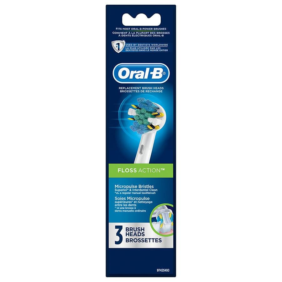 Oral-B Professional Care Replacement Brush Heads (3-Pack) $4.99 YMMV