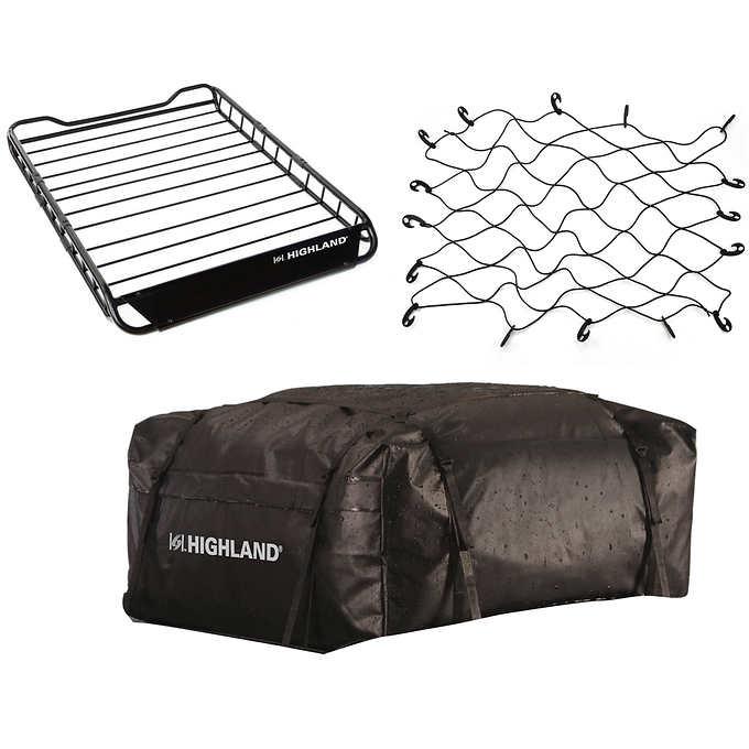 Costco: Highland Vehicle Rooftop Cargo Bundle $129.99