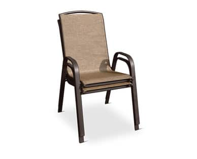 $12.99 for each Gardenline Stacking Chair (In Store)