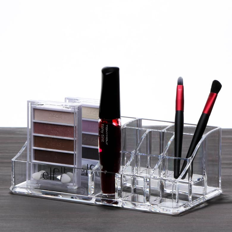 Deluxe Cosmetics Organizer - 9 Compartments $1