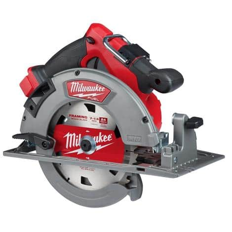 Milwaukee M18™ FUEL™ 7-1/4 in. Circular Saw + free XC 8.0a Battery. Free S&H. - $169.88