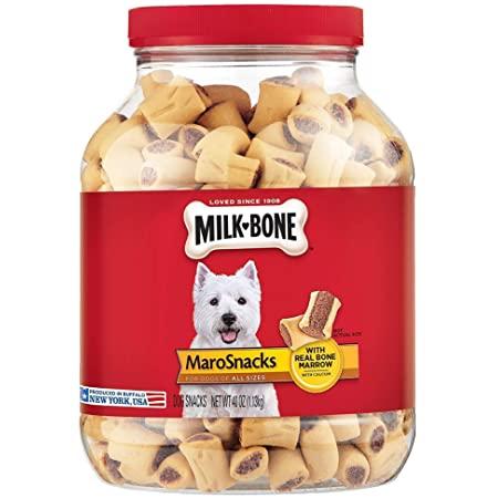 two 40-oz. Milk-Bone MaroSnacks Dog Treats w/ Real Bone Marrow & Calcium  $11.70 w s&s