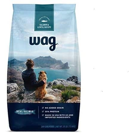 Wag Dry Dog Food with Grains (Chicken/Salmon/Beef and Brown Rice) $20.46 s&s.