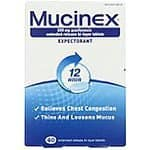 100-Ct Mucinex 12-Hour Chest Congestion Expectorant Tablets  $21.40 & More + Free Shipping