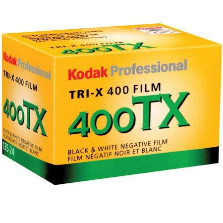 Kodak Tri-X Pan 400, Black & White Negative Film ISO 400, 35mm Size, 24 Exposure $5.99