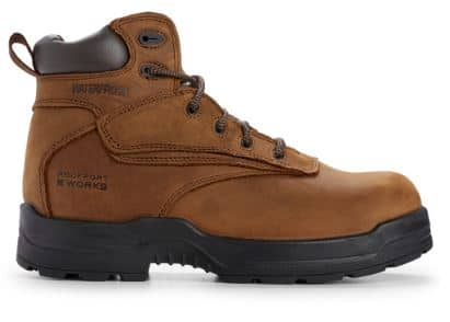 Rockport Waterproof Workboot Brown Nubuck List price $160 Special Offer $22.49 with Free Shipping