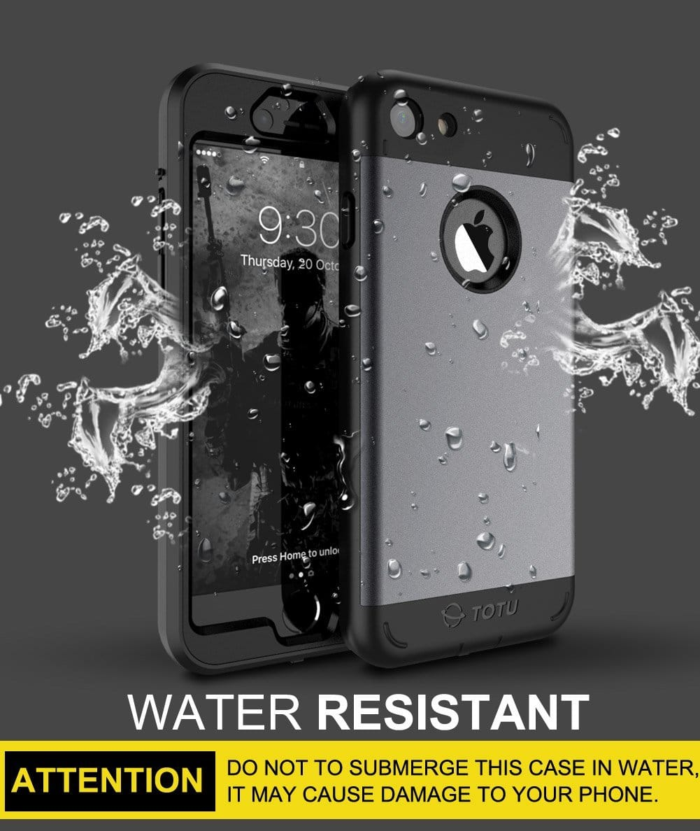 TOTU Water Resistant Case for iPhone 7/7 Plus $3.99 AC@Amazon + FS w/ Prime