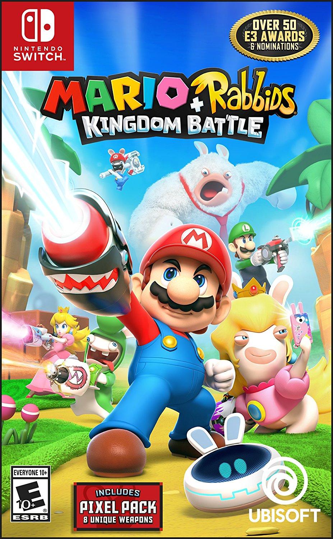 Mario + Rabbids Kingdom Battle - Nintendo Switch Standard Edition $49.95 at Amazon.com