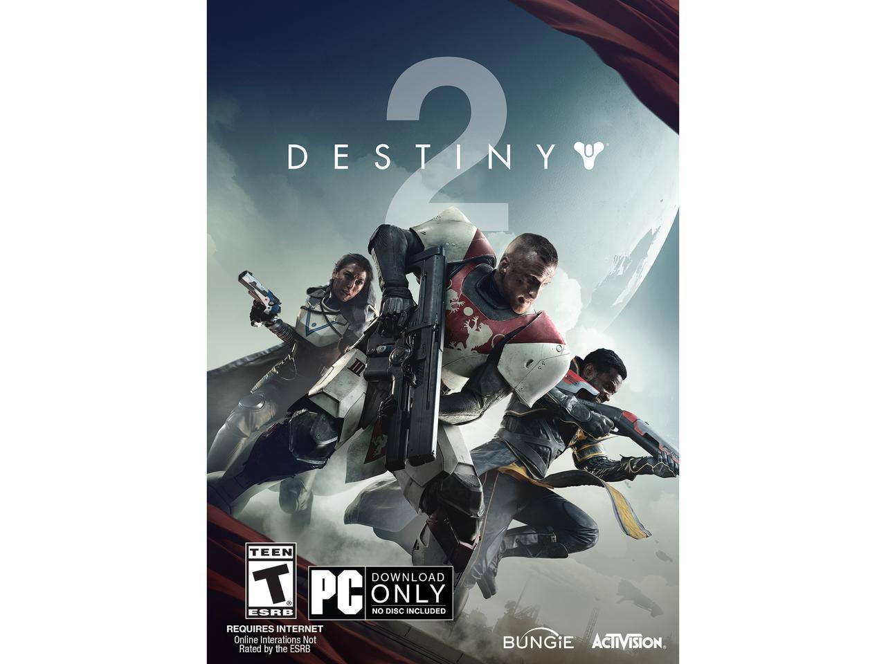 Destiny 2 PC $29.99 Newegg - Physical