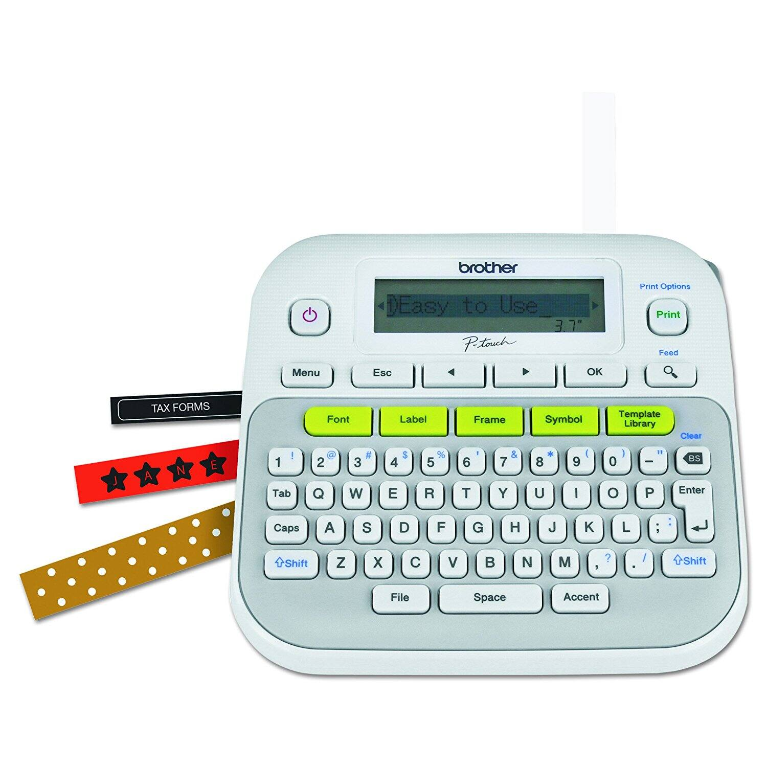 Brother P-Touch PT-D210 Label Maker $9.99 Free Shipping with Prime