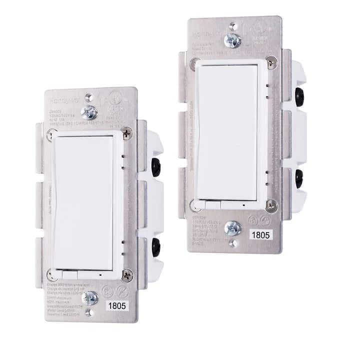Costco Members: Honeywell Z-Wave Smart Light Switch, 2-pack, $49.99 including shipping