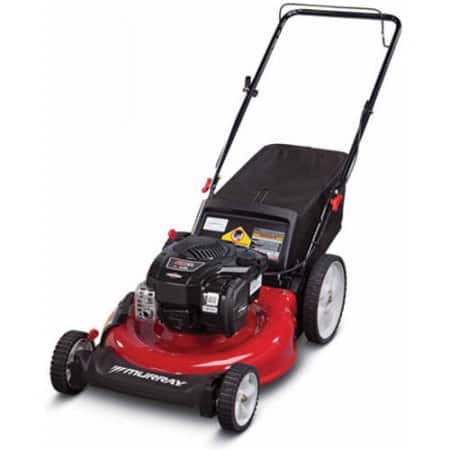 """Murray 21"""" Gas Push Lawn Mower with Side Discharge, Mulching, Rear Bag and Rear High Wheel on Walmart clearance as low as 54 cents YMMV"""