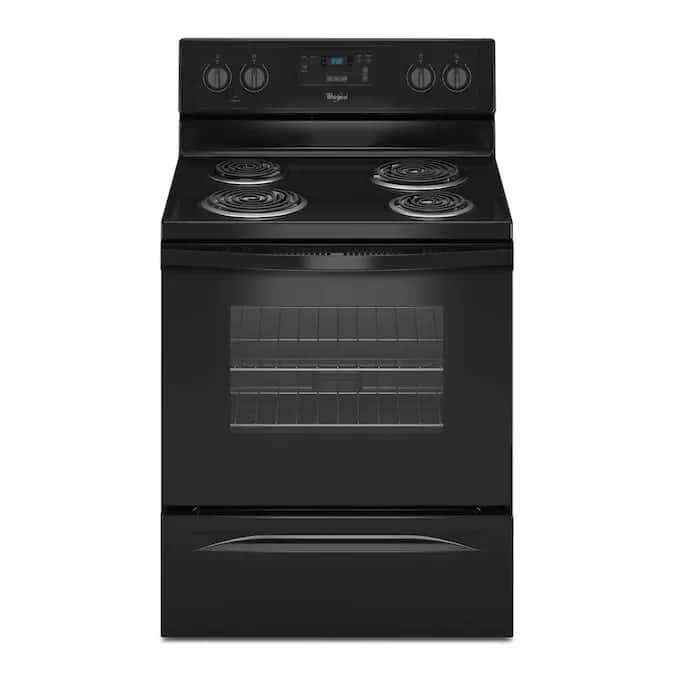 Whirlpool 4 Elements 4.8-cu ft Freestanding Electric On clearance for $136 YMMV B&M