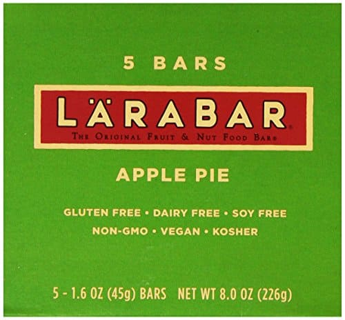 Back again: 5-Pack Larabar Gluten Free Apple Pie Bars for $1.40 after $4 off coupon and Subscribe & Save