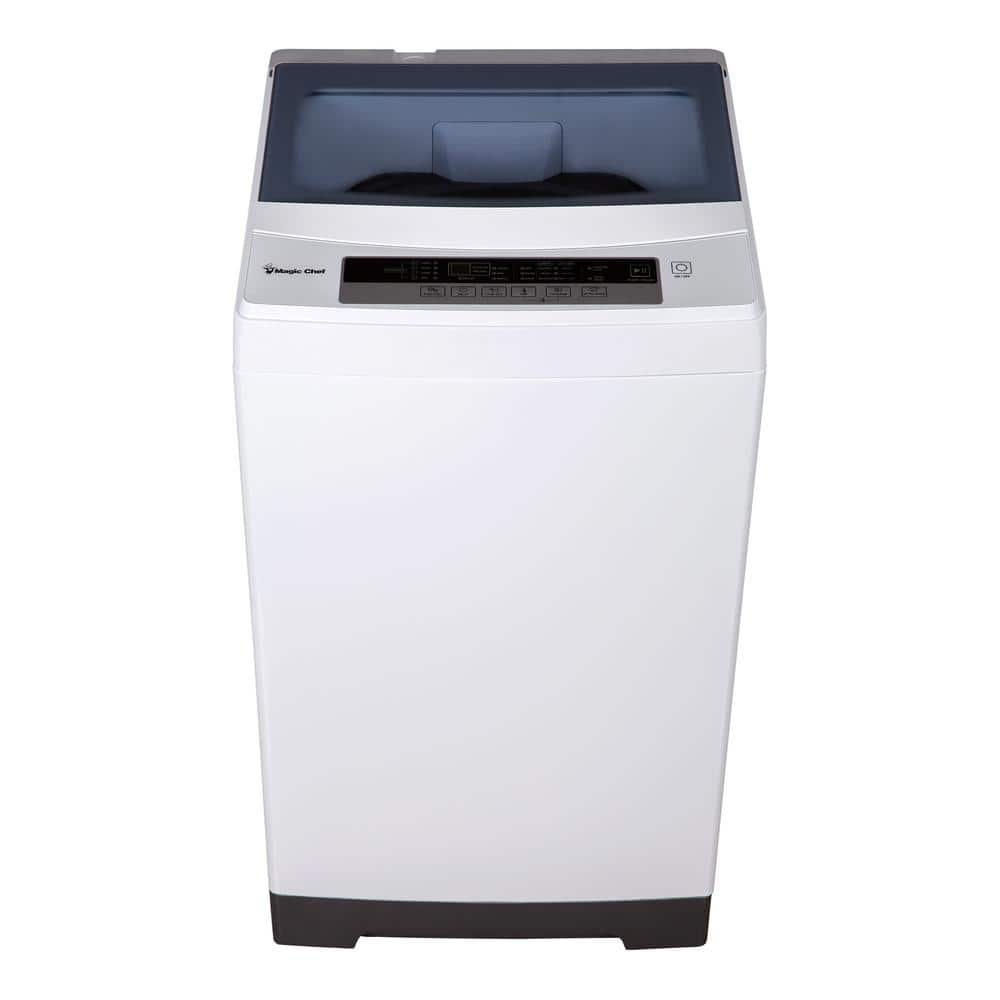 Magic Chef 1.6 cu.ft. Topload Portable Clothes Washer, White Only $199