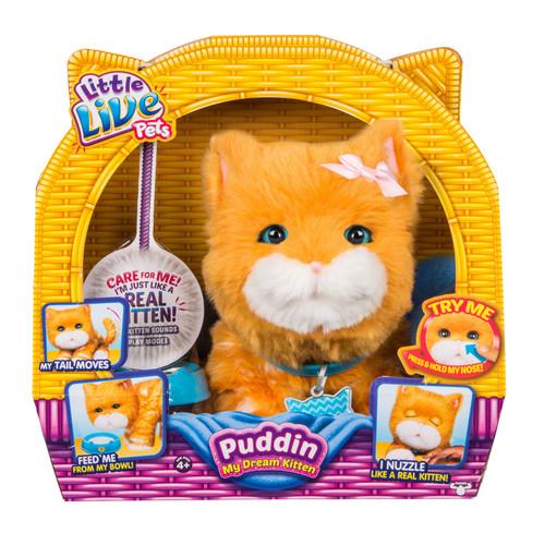 Little Live Pets Puddin My Dream Kitten FREE Shipping $ 29.98 on toysruns.com $29.98