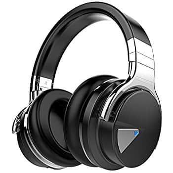 COWIN E7 Active Noise Cancelling Bluetooth Headphones with Microphone Hi-Fi Deep Bass Wireless Headphones Over Ear $39.99