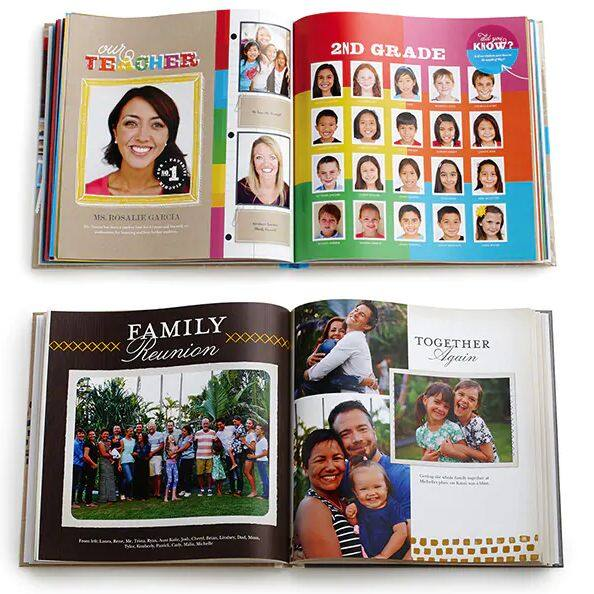 Shutterfly has unlimited free photobook pages