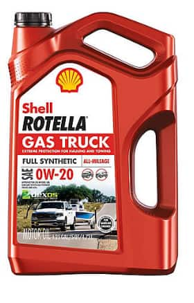 Shell Rotella Gas Truck Full Synthetic 5 quart Jugs on sale $18