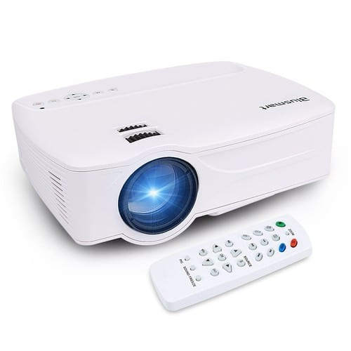 Projector, Blusmart LED-9 Home Video Projector, Multimedia Home Theater Projector Support 1080P HDMI USB SD Card VGA AV $79.59