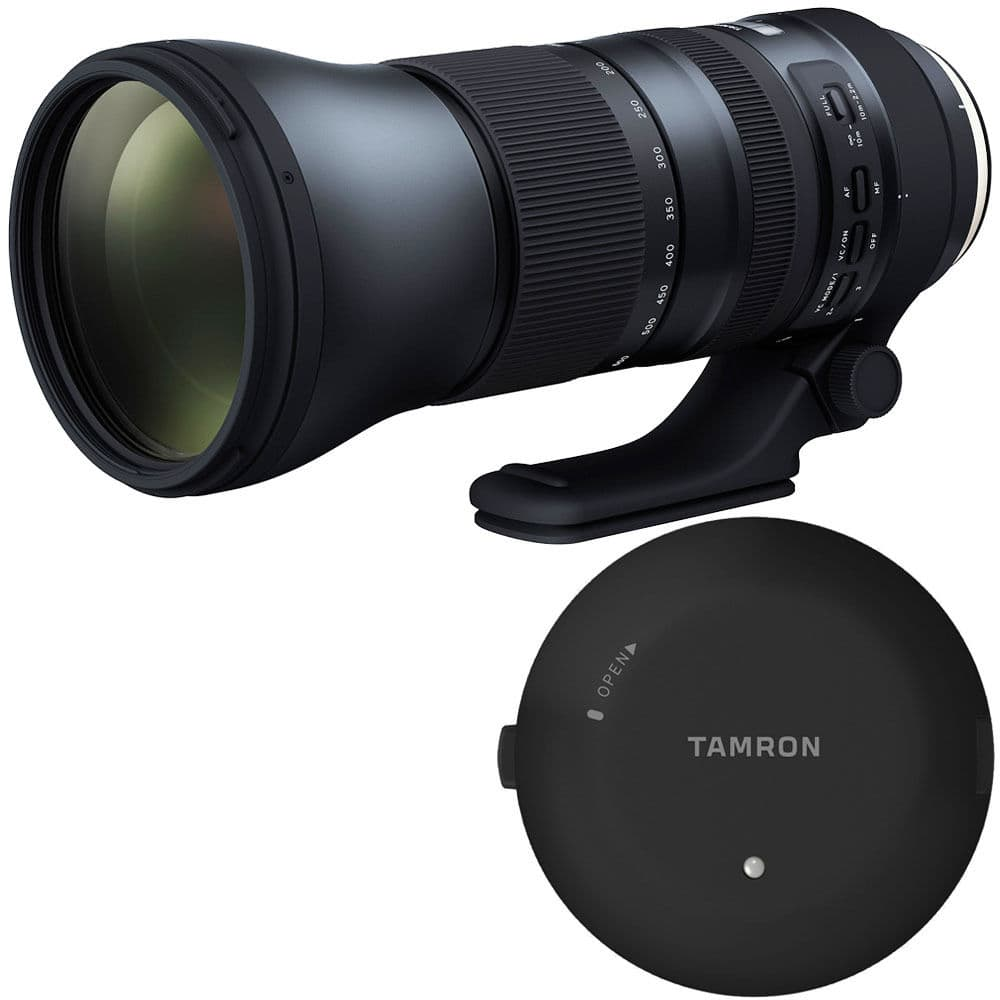 Tamron latest generation tele zoom 150-600 with Tamron TAP for about $1100 $1099