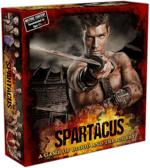 MM Daily Deal - Spartacus: A Game of Blood and Treachery $20 (60% off) + S/H