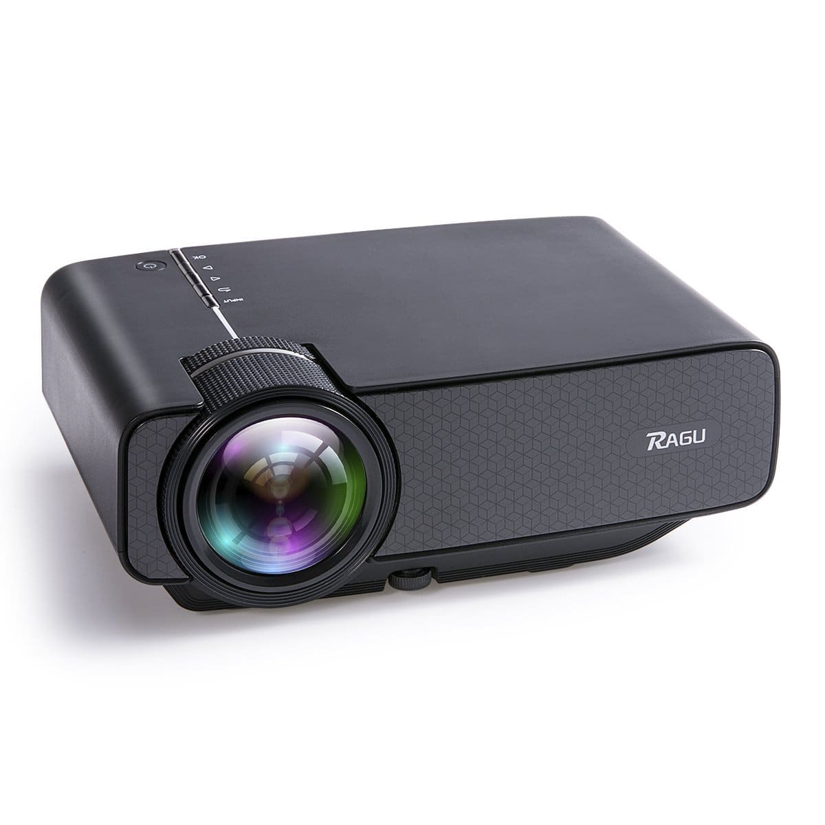 1600 Lumens Mini Portable Projector, Home Entertainment Video Projector Movie Theater LED for $57 @ Amazon