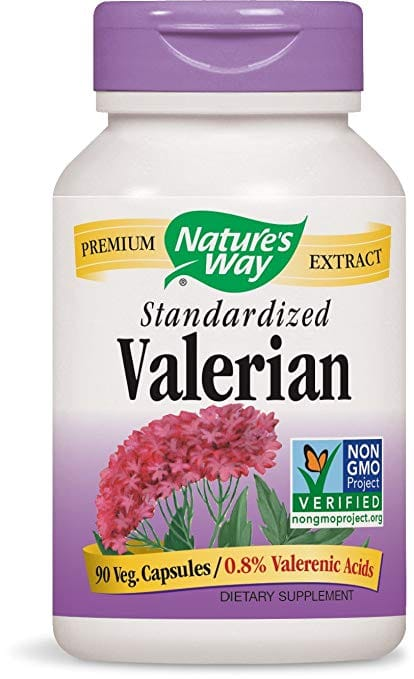 $5.79 Free Shipping Prime;Nature's Way Valerian; 08% Valerenic Acids per serving; Non-GMO; 90 Capsules;  Supports a restful nights sleep.